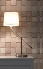 Design By Grönlund Bordslampa Swing Med Satin Stem Vit