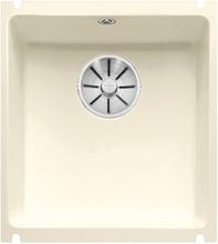 Blanco Subline 375-U kjøkkenvask 40,4 x 45,6 cm, keramisk porselen, magnolia