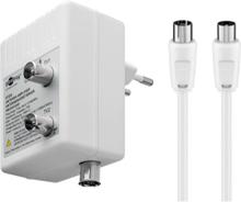 Two-Device Antenna Amplifier (DVB-T / DVB-T2 / DVB