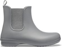 Crocs Women's Freesail Chelsea Boot Metallic Charcoal