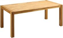 Massiivitamminen ruokapöytä 180 cm NATURA