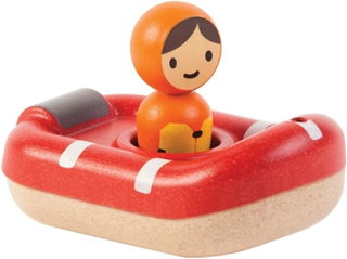 Badleksak räddningsbåt - Plantoys Ekologiskt