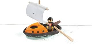 Badleksak Piratbåt - Plantoys Ekologiskt