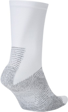 NikeGrip Strike Football Crew Socks - White