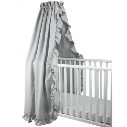 Sänghimmel Volang Light Grey - NG Baby