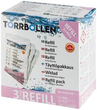 Torrbollen 7114 Refill 450g, 3-pack, för fuktslukare