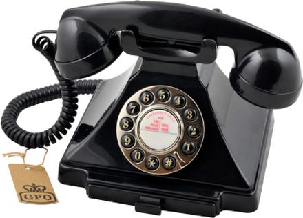 GPO Carrington Retrotelefon, Svart