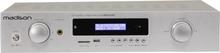 Madison HI-FI Stereo Förstärkare - Silver