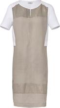 Klänning i 100% linne från Riani beige