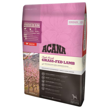 Acana Singles Grass-Fed Lamb - 11,4 kg
