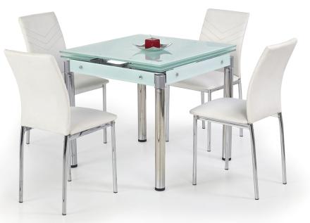 Rozkładany stół Cuber - biały