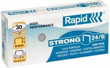 Rapid Niittejä, Strong 24/6 Galv 1000 Kpl