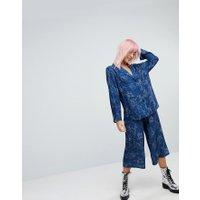 RAGYARD - Stjärnmönstrad pyjamasunderdel