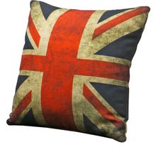 2 st Union Jack prydnadskudde - Old
