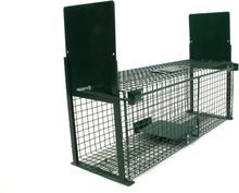 Rattenval - 50x18x18cm - dubbele ingang