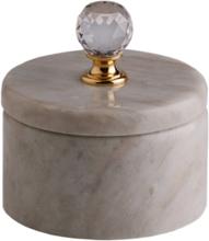 Svensk Marmor Förvaringsask Mässing Light Crystal