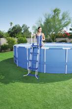 Clear Pool Säkerhetsstege 122 cm, ovanmark, 2 x 3 steg