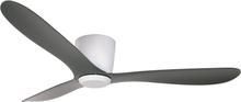 Texa Design Takfläkt Cetus-Matt Vit-Antracitgrå