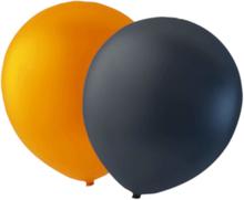 24-pack Orange/svarta Ballonger