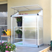 Gop Växthus Vägg 0,79m2 Aluminium