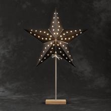 Konstsmide Pappersstjärna Ekfot Svart 45cm 2169-701