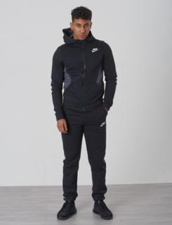 Nike, TRK SUIT BF CORE, Svart, Set/Träningsoveraller till Kille, M