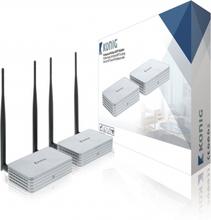 5 GHz Trådløs Hdmi Transmitter 1080p / 3D - Rækkevidde 100 m