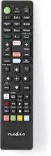 Erstatnings Fjernbetjening | Egnet til: Sony | Fast | Antal enheder: 1 | Google Play-knap / Netflix-