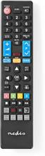 Erstatnings Fjernbetjening | Egnet til: Samsung | Fast | Antal enheder: 1 | Netflix-knap / Smart hub
