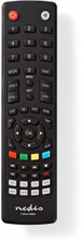 Universal fjernbetjening | Forprogrammeret | Antal enheder: 8 | Hukommelses knapper / TV guide knap