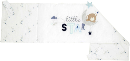 East Coast Silvercloud lille stjerne 3 stykke sengetøj sæt - Fruugo
