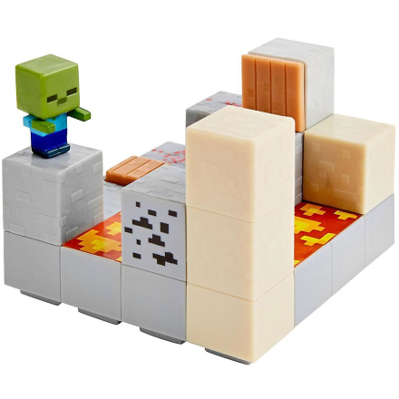 Minecraft miljø Mini sæt stempel Push - Fruugo