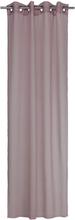 Gardinset Vanja med 2 öljettlängder. Färg: Gammelrosa. Mått: 2 x 130 x 240 cm. Material: 100% polyester.