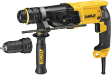 DeWalt Borrhammare 26 mm, SDS-Plus, 3 -läges, QCC