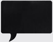 Memo pratbubbla med krita. Wallsticker från Modern house. Mått rektangulär 1 x 49 x 60 cm.
