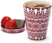 Kaffe/temugg i tvåpack i porslin från Göteborgs Fabrikerna Tål maskindisk och mikro.
