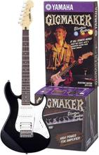 Elgitarr paket Yamaha EG112GPIIHII Svart, Vit inkl. väska, inkl. förstärkare