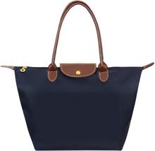 New Nylon Beach Tote Bag Fashion Womens Handbag Tote Oxford Shoulder Bags Female Waterproof Dumplings Folding Shopping Bag 2020