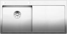 Blanco Claron 5S-IF MXI diskbänk med InFino® korgventil & PushControl - Vänster