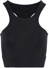 Womens TriDri® Performance Sports Mid Length Bra Black
