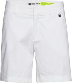 W Crew Shorts Shorts Flowy Shorts/Casual Shorts Hvit Helly Hansen