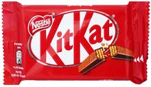 """Godis """"KitKat"""" 41,5g - 28% rabatt"""
