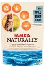 Iams - Naturally karma dla kota tuńczyk w sosie