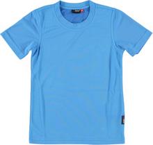T-shirt van Maier Sports in de kleur blauw