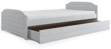 Helsingör juniorsäng 90x200 cm (vit eller grå färg)