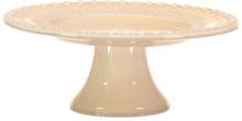 DAISY Cakeplate Large 35 cm Nude