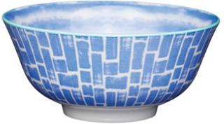 Kitchen Craft Skål Ø 15,7 cm - Blue swirl Kitchen Craft
