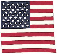 Bandana -Snusnäsduk US flag