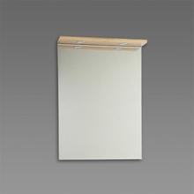 Spegel med ramp Källa / Ramsnäs 600 mm, Ek, 600 mm