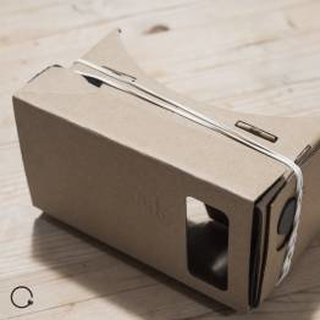 Cardboard med linser Google